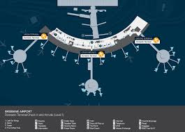Brisbane airport map