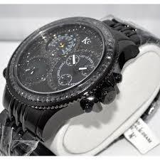 black diamond mens watches watches black diamond watch mens 2 85ct kc techno 53mm