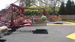 the scrambler at carowinds amusement park youtube