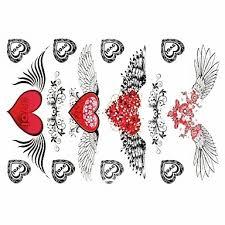1 Pcs Dočasné Tetování Voděodolné Papír Tetovací Nálepky Vzor Spodní část Zad Waterproof