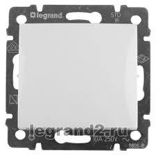 <b>Legrand</b> 774401 - <b>выключатель Valena одноклавишный</b> 10А белый