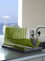 Kitchen: Contempory And Modern Dishrack Ideas - Dish Drying Racks