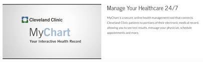 Mychart Cleveland Clinic Login Page Mychart Login