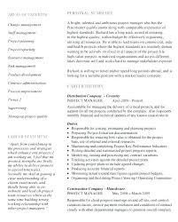 Construction Project Manager Resume Templates Construction Project ...