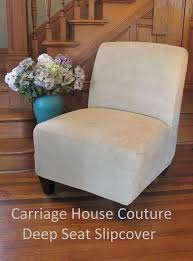 suede slipcover for slipper chair armless chair accent chair gray beige more