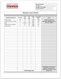 Recipe Form Omfar Mcpgroup Co