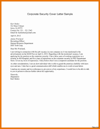 Security Cover Letter Security Guard Cover Letter Abcom 9