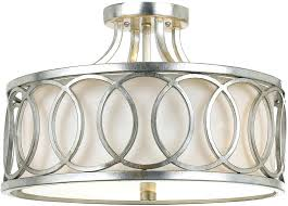 chandeliers margeaux ceiling mount chandelier flush lighting close to light graham antique silver loading zoom