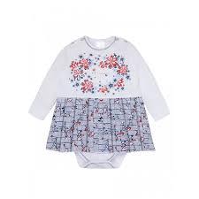 <b>Мамуляндия Боди</b>-платье для девочки Морской Калейдоскоп 19 ...