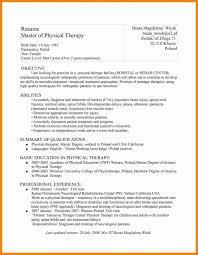Massage Therapist Resume Examples Perfect Occupational Therapy