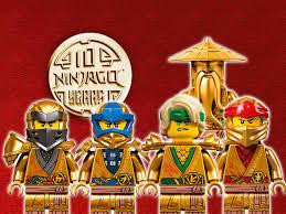 10 Jahre LEGO Ninjago: Neue Bilder und Infos zu den goldenen Ninjas!