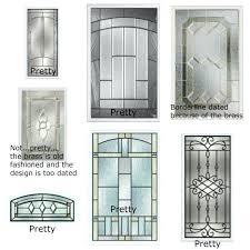 door glass insert medium size of for doors in fascinating fiberglass exterior with inserts canada
