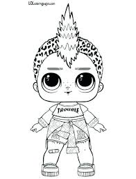 Queen Bee Lol Doll Coloring Pages Pictures To Pin On Pinterest