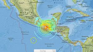 m earthquake guatemala chiapas pijijiapan mexico  youtube