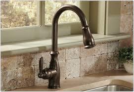 Interior: Best Moen Kitchen Faucets In Bronze Color Design With ...