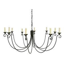 light weathered chandelier 10 crystal