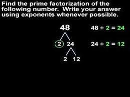 Prime Factorization Mathhelp Com Math Help
