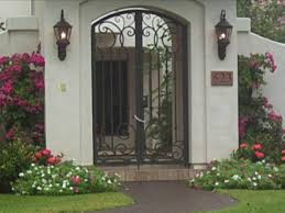 wrought iron exterior doors. #WIED-12 Decorative Wrought Iron Exterior Doors Y