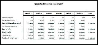 Free Financial Statement Template Interesting Financial Forecast Template Excel Or Cash Flow Statement 48 Year