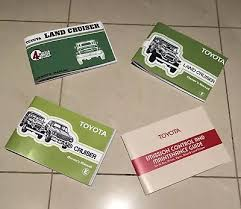 fj40 owners manual reproduction other parts accessories fj40 owners manual reproduction