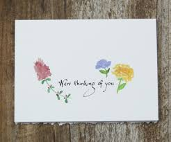 Little Flowers Sympathy Card