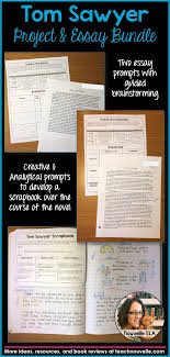 tom sawyer project and essay bundle students homeschool and school this bundle includes four resources to engage students while reading the adventures of tom sawyer by