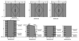 glass door elevation blocks cad drawing