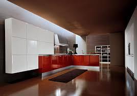 ideas contemporary red white italian kitchen