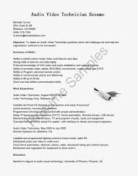 audio visual technician resume examples resume examples 2017 video resume sample
