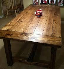DIY Farmhouse Table. $90