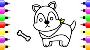 How To Draw Cute Puppy For
