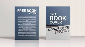 check out this behance project free book cover mockup design s