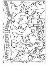 Small Picture Dora the Explorer Kids Coloring Pages Free Colouring Pictures to
