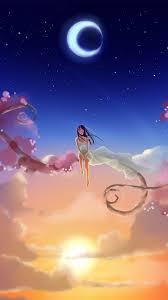 anime wallpaper iphone. fantasy sky anime wallpaper iphone i