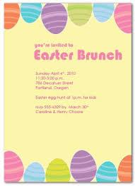 Printable Brunch Easter Invitation Template