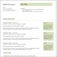 35+ Best Cv And Résumé Templates