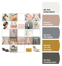 Dove Grey Colour Chart Color Scheme Dusty Pink Mustard Yellow Dove Grey In 2019