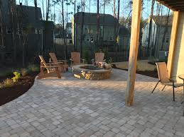 paver patio with fire pit. Plain Fire Paver PatioPaver Patio Fire Pit And Landscaping Previous Next   To Patio With