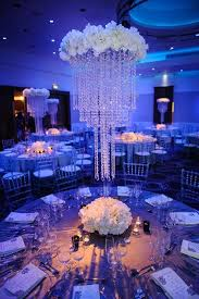 centerpieces bring on the bling crystals diamonds