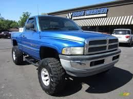 1998 Intense Blue Pearl Dodge Ram 1500 ST Regular Cab 4x4 ...