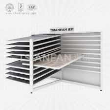 ceramic tile display shelves cx2036