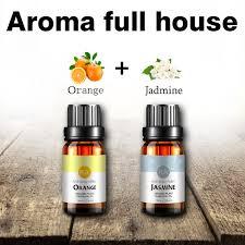 Jasmine Essential Oil Orange 100 Pure Sweet 10ml Moisturizing Skin Brighten Skin Care Body Massage Oil Spa Aromatherapy Oil Essential Oil Young