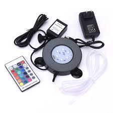 Hồ Cá Đèn LED Chiếu Sáng Điều Khiển Hồng Ngoại Từ Xa RGB 16 Màu Sắc Thay  Đổi Cá Đèn LED Bong Bóng Không Khí Đá Dưới Nước Aquario Ánh Sáng d30