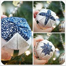 FREE step-by-step instructions for making a Quilted Ball Ornament ... & FREE step-by-step instructions for making a Quilted Ball Ornament | from  http Adamdwight.com