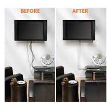 cable wall cover tv wire organizer cables management system flat screen mounted