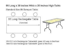 rectangle tablecloth size chart awesome round table sizes standard al tablecloth beautiful for size