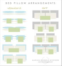 king pillows on queen bed. Fine Bed Bed Pillow Arrangements Types In King Pillows On Queen A