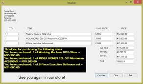 Invoice Price Calculator Invoice Item Price Calculator Welcome To John Sokpo