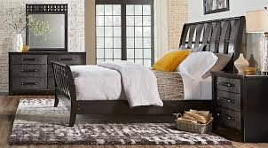 gray king bedroom sets. bedford heights gray 5 pc king sleigh bedroom - sets colors
