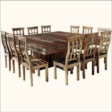 elegant square dining room table for 12 people pantry versatile 12 seat square dining table designs